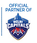 Official Partners of Delhi Capitals